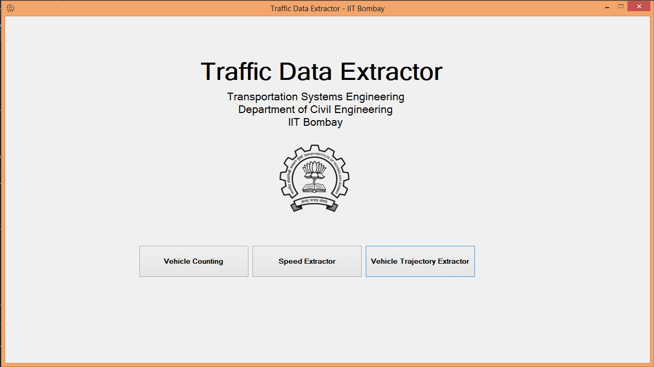 Traffic Data Extractor, IIT Bombay