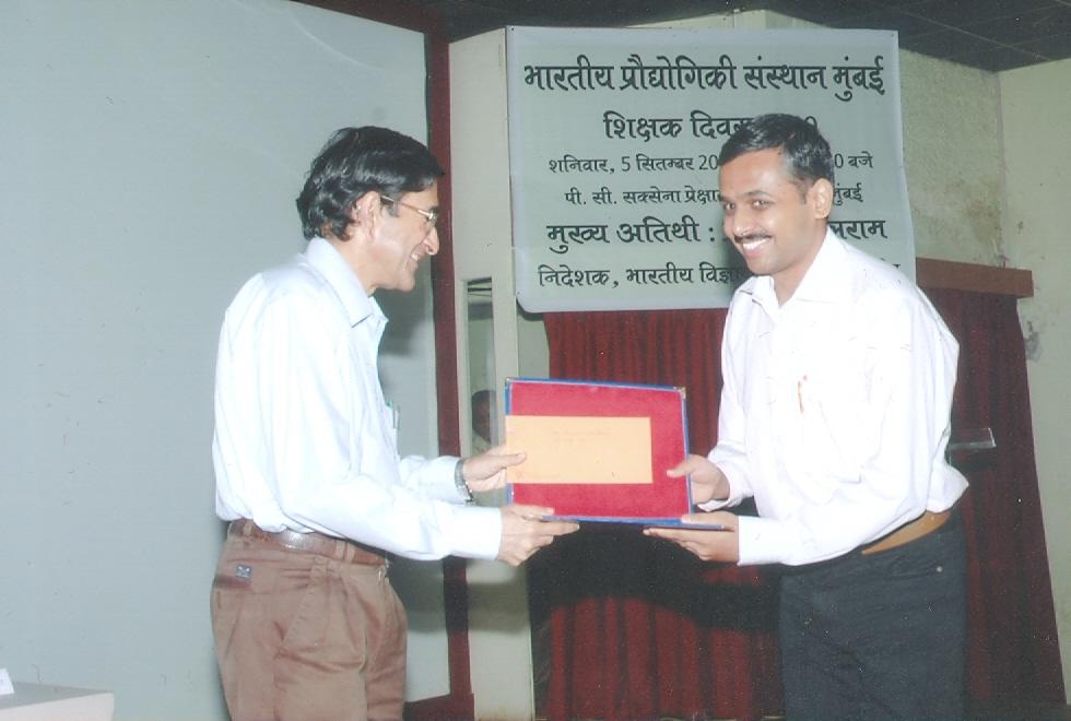 best thesis award iit bombay