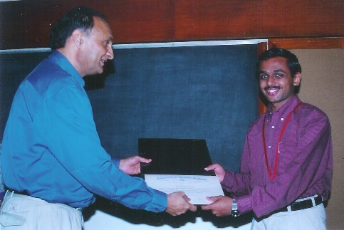 best thesis award iisc